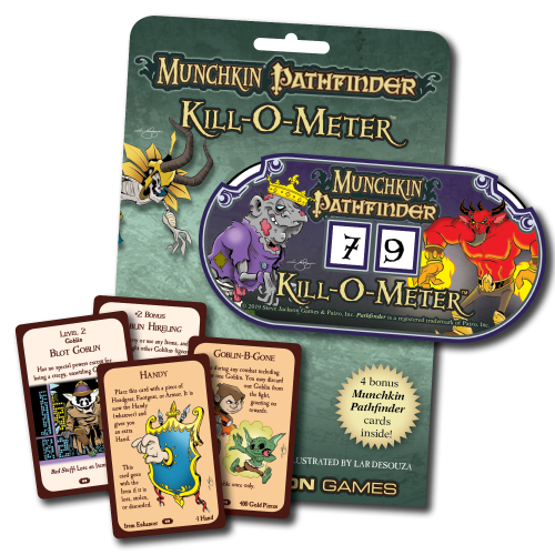 Munchkin Pathfinder Kill-O-Meter cover