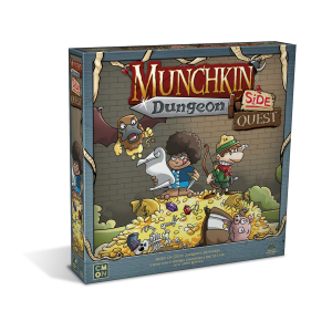 Munchkin Dungeon: Side Quest cover