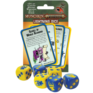 Munchkin Warhammer Age of Sigmar Lightning Dice cover