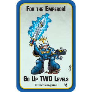 For the Emperor! Munchkin Warhammer 40,000 Promo Card cover