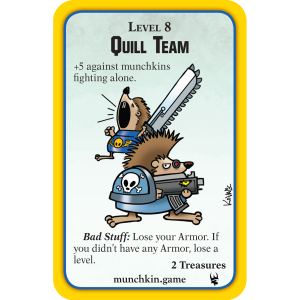 Quill Team Munchkin Warhammer 40,000 Promo Card cover