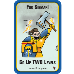 For Sigmar! Munchkin Warhammer Age of Sigmar Promo Card cover