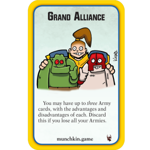 Grand Alliance Munchkin Warhammer Age of Sigmar Promo Card cover