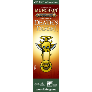 The Official Munchkin Warhammer Age of Sigmar Bookmark of Death's Door! cover