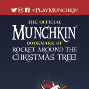 The Official Munchkin Bookmark of Rocket Around the Christmas Tree! cover