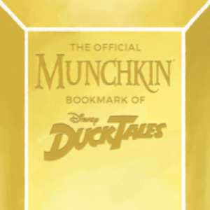 The Official Munchkin Bookmark of Disney DuckTales! cover
