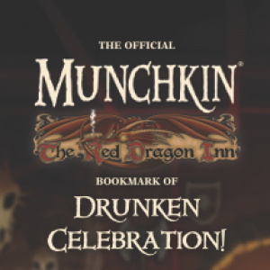 The Official Munchkin The Red Dragon Inn Bookmark of Drunken Celebration! cover