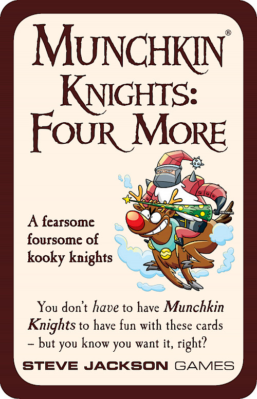 Munchkin Knights: Four More cover