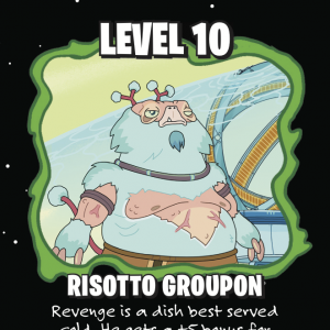 Risotto Groupon Munchkin: Rick and Morty Promo Card cover