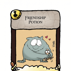 Friendship Potion Munchkin Panic Promo Card cover
