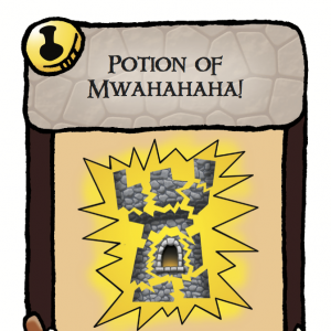Potion of Mwahahaha! Munchkin Panic Promo Card cover