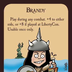 Brandy Munchkin Promo Card cover