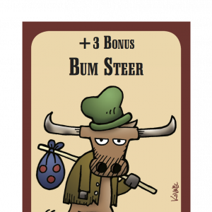 Bum Steer The Good, the Bad, and the Munchkin Promo Card cover