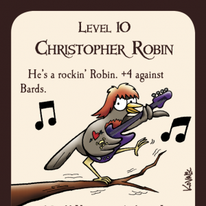 Christopher Robin Munchkin Promo Card cover