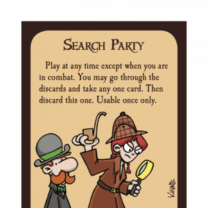 Search Party Munchkin Promo Card cover