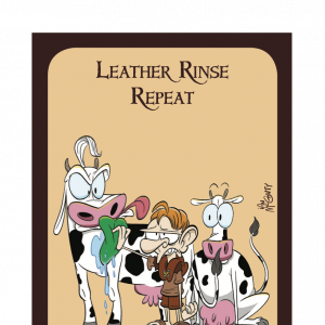 Leather Rinse Repeat Munchkin Promo Card cover