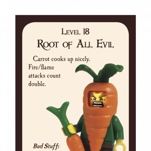 Root of All Evil Munchkin Promo Card cover