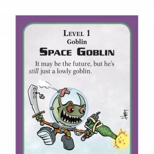 Space Goblin Munchkin Starfinder Promo Card cover