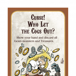 Curse! Who Let the Cogs Out? Munchkin Steampunk Promo Card cover