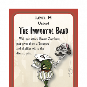 The Immortal Bard Munchkin Zombies Promo Card cover