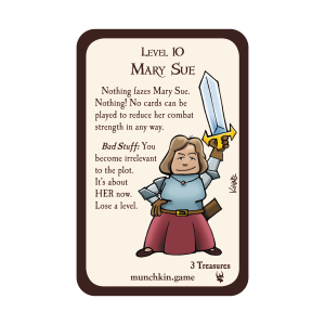 Mary Sue Munchkin Promo Card cover