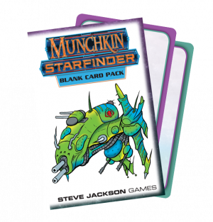 Munchkin Starfinder Blank Card Pack cover