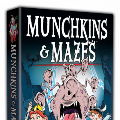 Designer's Notes: Munchkins & Mazes cover