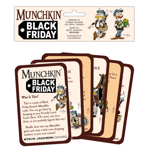 Munchkin Black Friday cover