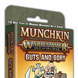 Munchkin Warhammer Age of Sigmar: Guts and Gory cover