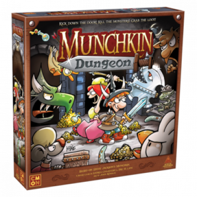 Munchkin Dungeon Now Available In Warehouse 23! cover