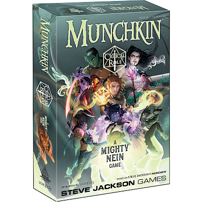 Announcing Munchkin: Critical Role – coming April 2021 cover